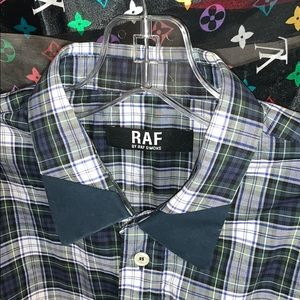 Raf Simons shirt archive RAF flannel button up